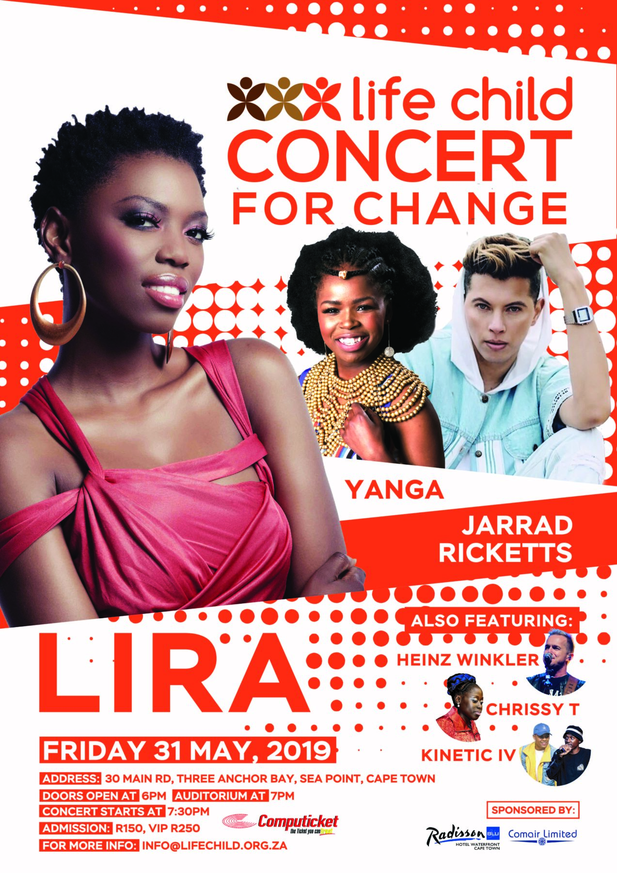 Life Child Concert for Change 2019 featuring Lira