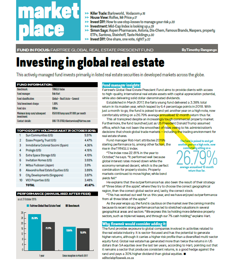 Investing in Global Real Estate